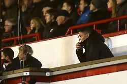 Barnsley manager Paul Heckingbottom communicates with the bench via radio - Mandatory by-line: Matt McNulty/JMP - 31/01/2017 - FOOTBALL - Oakwell Stadium - Barnsley, England - Barnsley v Wolverhampton Wanderers - Sky Bet Championship
