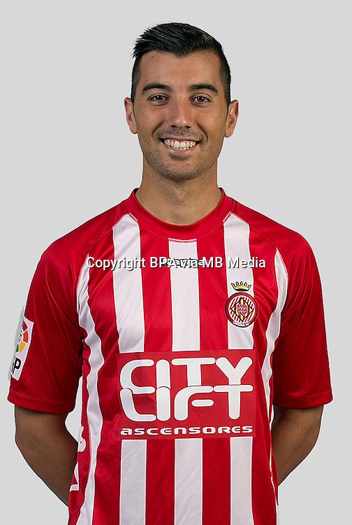 Spain - La Liga Adelante 2015-2016 / <br /> ( Girona F.C. ) - <br /> Borja Garcia Freire