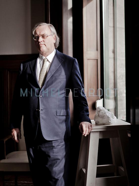 Cees de Bruin, CEO van Indofin in Rotterdam