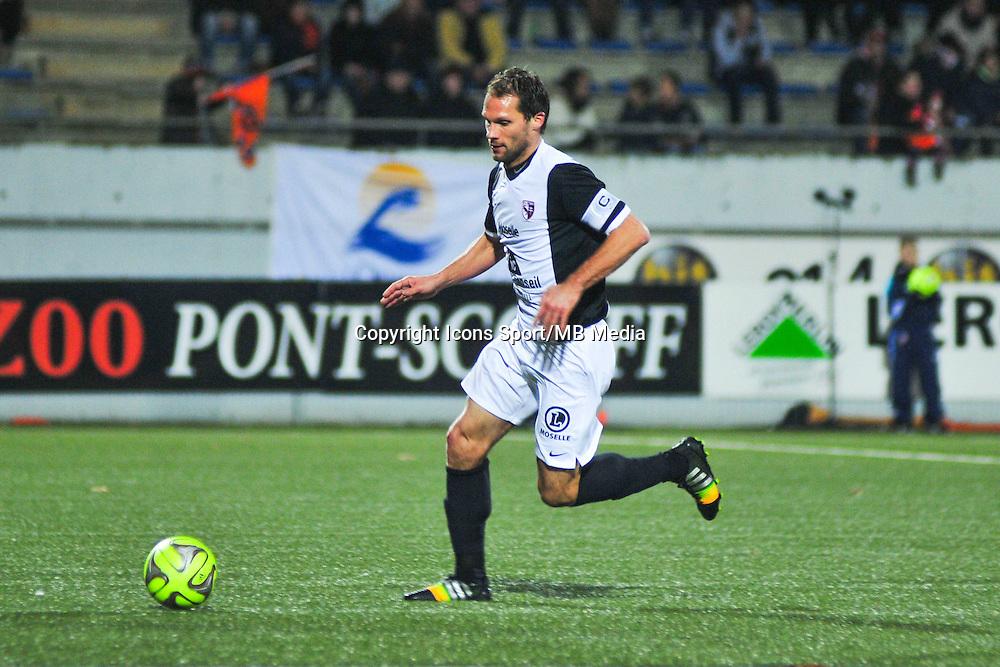 Sylvain Marchal  - 13.12.2014 - Lorient / Metz  - 18eme journee de Ligue1<br />Photo : Philippe Lebrech / Icon Sport