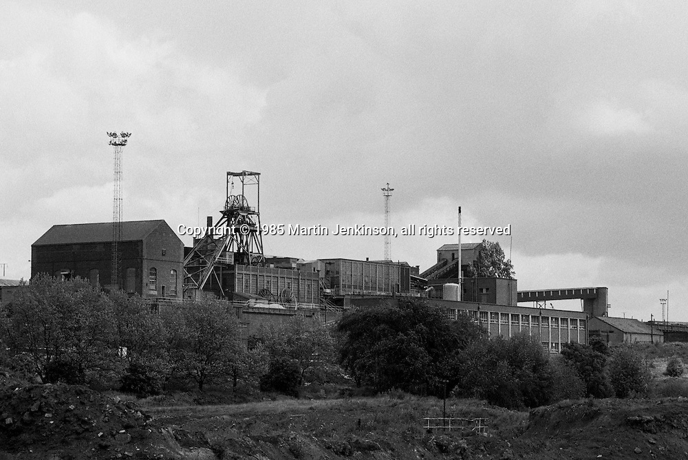 Brookhouse Colliery, Beighton. National Coal Board South Yorkshire Area. 10-06-1985.