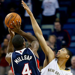 02-05-2014 Atlanta Hawks at New Orleans Pelicans