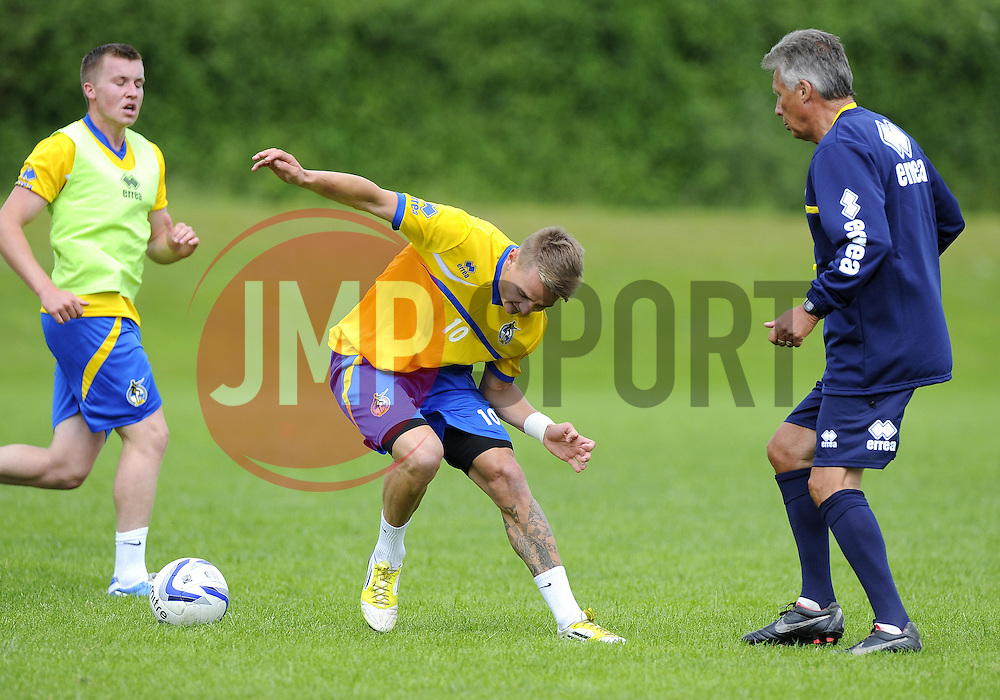 Bristol Rovers' Eliot Richards - Photo mandatory by-line: Joe Meredith/JMP - Tel: Mobile: 07966 386802 24/06/2013 - SPORT - FOOTBALL - Bristol -  Bristol Rovers - Pre Season Training - Npower League Two