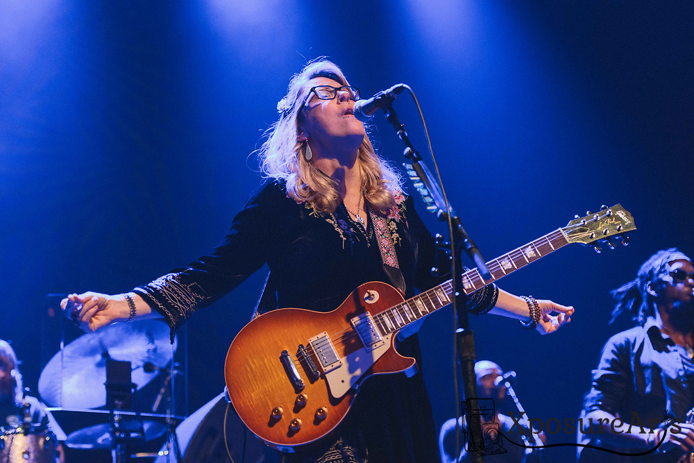Susan Tedeschi of Tedeschi Trucks performs at the Fox Theater in Oakland, CA