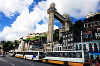 the elevator in the beautiful city of salvador in bahia state brazil