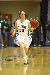 18 March 2011: Melissa Gardner during an NCAA Womens basketball game between the Washington University Bears and the Illinois Wesleyan Titans at Shirk Center in Bloomington Illinois.