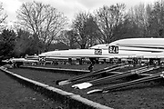 London. United Kingdom,  Dukes Meadows Boat Park. 2018 Women's Head of the River Race.  location Barnes Bridge, Championship Course, Putney to Mortlake. River Thames, <br />