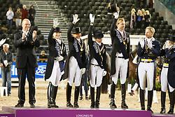 Team Germany, Langehanenberg Helene, Werth Isabell, Rothenberger Sönke, Schneider Dorothee, Roeser Klaus<br /> FEI European Dressage Championships - Goteborg 2017 <br /> © Hippo Foto - Dirk Caremans<br /> 23/08/2017,