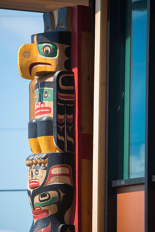 Canada, British Columbia Vancouver Island, Comox, First Nation tribal office