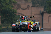 #110 Peter Hargroves Caterham SLR 2000 during the CSCC Gold Arts Magnificent Sevens at Oulton Park, Little Budworth, Cheshire, United Kingdom. October 15 2016. World Copyright Peter Taylor/PSP. <br /> Copy of publication required for printed pictures.  Every used picture is fee-liable. http://archive.petertaylor-photographic.co.uk