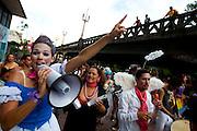 BELO HORIZONTE_MG. 20 de fevereiro de 2012...BELOTUR - CARNAVAL BH..Bloco Corte Devassa desfila pelas ruas do centro.?.Foto: RODRIGO LIMA / NITRO.