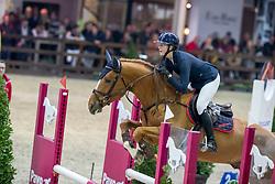 Paulsen Emely Karoline, NOR, Quicksilver C<br /> Pavo Hengstencompetitie<br /> Azelhof Lier 2020<br /> © Hippo Foto - Dirk Caremans
