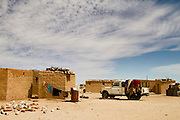 The Sahrawi refugee camps in southwestern Algeria.