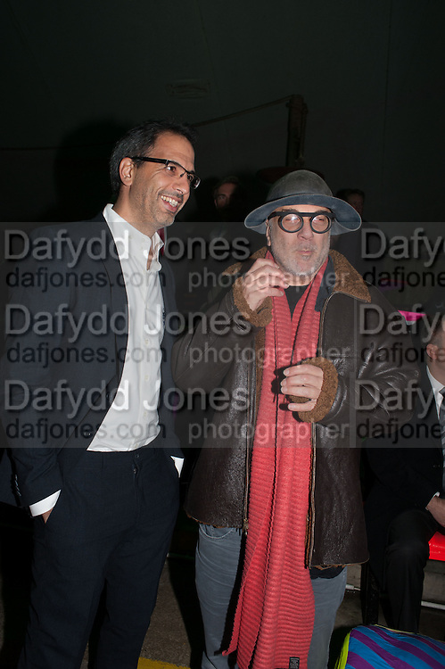 RON ARAD, Fundraising Gala for the Zeitz foundation and Zoological Society of London hosted by Usain Bolt. . London Zoo. Regent's Park. London. 22 November 2012.