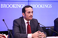 Foreign Minister Qatar speaks at Brookings