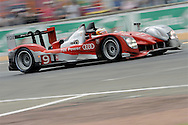 June 13th 2010, 24h Le Mans, Audi R15 TDI,  Audi Sport North America Team, Timo Bernhard (DEU)