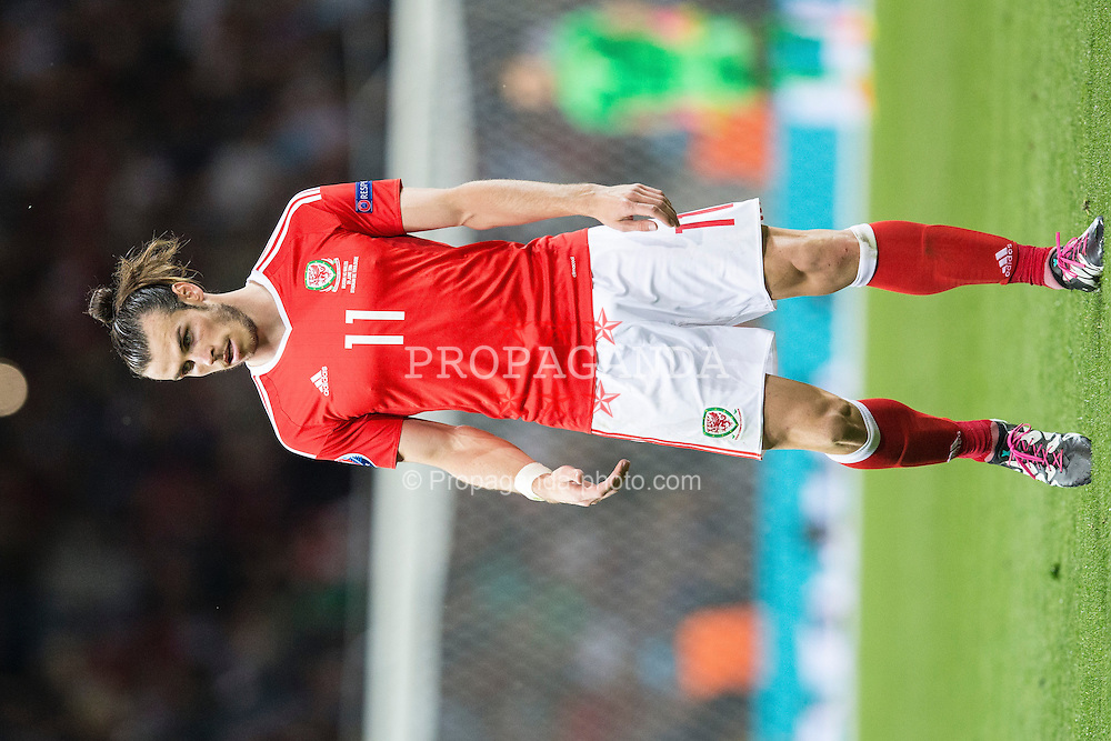 TOULOUSE, FRANCE - Monday, June 20, 2016: Wales' Gareth Bale during the final Group B UEFA Euro 2016 Championship match against Russia at Stadium de Toulouse. (Pic by Paul Greenwood/Propaganda)