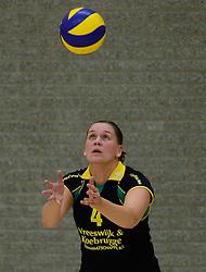 16-11-2013 VOLLEYBAL: KING SOFTWARE VCN - PRIMA DONNA KAAS HUIZEN: CAPELLE AAN DEN IJSSEL<br /> Huizen wint met 3-2 van VCN / Petra Siebers<br /> ©2013-FotoHoogendoorn.nl