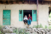 Naranag village, Kashmir Valley, Northern India 2009-07-11.<br />