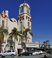 Teh Fox Theater in downtown Bakerfield, California Photo by Dennis Brack