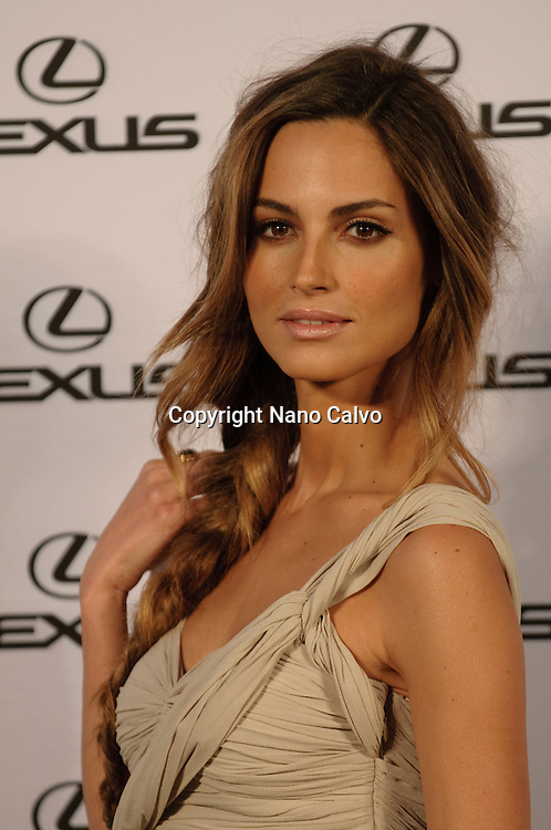 Spanish model Ariadne Artiles assist to event hosted by Top model Bar Refaeli for Lexus at the Villamagna Hotel in Madrid, Spain