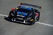 September 21-24, 2017: Lamborghini Super Trofeo at Laguna Seca. Cameron Cassels, Alex Popow (Pro), Prestige Performance, Lamborghini Paramus, Lamborghini Huracan LP620-2