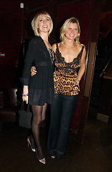 Left to right, LADY EMILY COMPTON and the MARCHIONESS OF MILFORD HAVEN at The Christmas Cracker - an evening i aid of the Starlight Children's Charity held at Frankies, Knightsbridge on 13th December 2006.<br /><br />NON EXCLUSIVE - WORLD RIGHTS