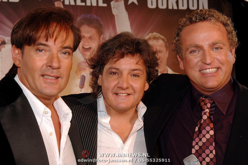 NLD/Amsterdam/20051201 - Perspresentatie Toppers in de Arena 2006, Rene Froger, Gerard Joling en Gordon
