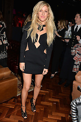 ELLIE GOULDING at the Universal Bacardi Brits' After Party At Soho House Pop-Up, 8 Victoria Embankment, London on 19th February 2014.