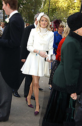 LADY EMILY COMPTON at the wedding of Clementine Hambro to Orlando Fraser at St.Margarets Westminster Abbey, London on 3rd November 2006.<br /><br />NON EXCLUSIVE - WORLD RIGHTS