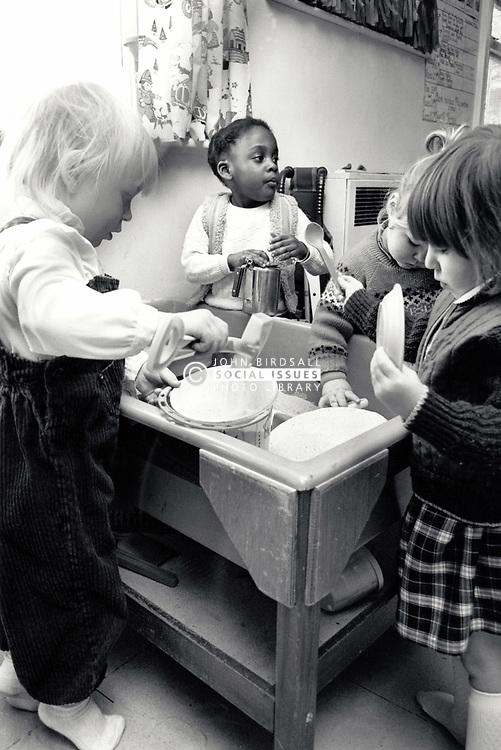 Crabtree play centre, Nottingham UK 1985