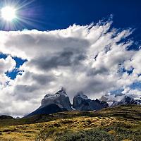 Cuernos del Paine. Parque nacional Torres del Paine. Cuernos del Paine. Torres del Paine National Park. Patagonia. Chile.