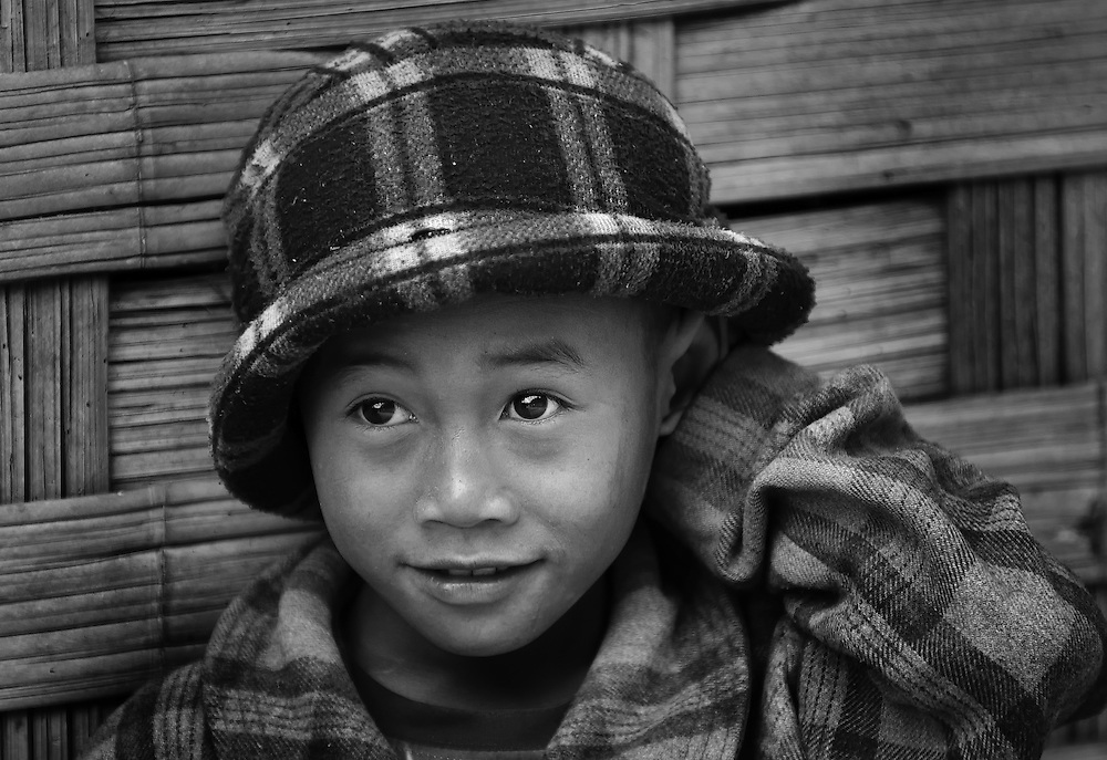 A boy from a mountain village near Luang Prabang, Laos.