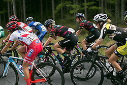 Tiffany Cromwell (AUS) of CANYON//SRAM Racing rides mid-pack on Stage 3 of the Ladies Tour of Norway - a 156.6 km road race, between Svinesund (SE) and Halden on August 20, 2017, in Ostfold, Norway. (Photo by Balint Hamvas/Velofocus.com)