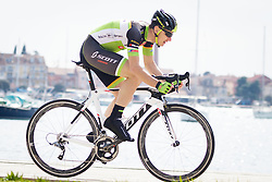 Luka Cotar of Sava during Istrian Spring Trophy on March 10, 2016 in Umag, Croatia. (Photo by Ziga Zupan / Sportida)