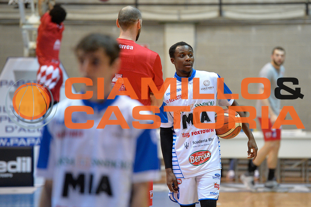 David Cournooh<br /> Red October Cantu' vs The Flexx Pistoia<br /> Lega A  2016/2017<br /> Milano 15/04/2017<br /> Foto Ciamillo-Castoria<br /> Provvisorio