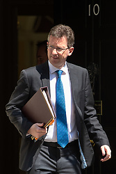 London, June 20th 2017. Attorney General Jeremy Wright leaves the weekly cabinet meeting at 10 Downing Street in London.