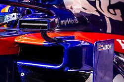 February 28, 2019 - Barcelona, Barcelona, Spain - Toro Rosso mirror detail  during the Formula 1 2019 Pre-Season Tests at Circuit de Barcelona - Catalunya in Montmelo, Spain on February 28. (Credit Image: © Xavier Bonilla/NurPhoto via ZUMA Press)