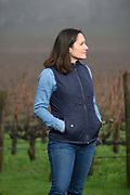 Laura Díaz Muñoz, winemaker, Elhers winery & estate vineyard, Napa, California
