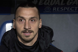 November 22, 2017 - Basel, BS, Schweiz - Basel, Fussball UEFA Champions League, FC Basel - Manchester United. 22.11. 2017. Manchesters Zlatan Ibrahimovic. (Credit Image: © Daniel Teuscher/EQ Images via ZUMA Press)