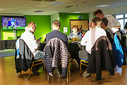 VIP Dining during the Leasing.com EFL Trophy match between Forest Green Rovers and Coventry City at the New Lawn, Forest Green, United Kingdom on 8 October 2019.