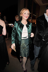 MIRANDA RICHARDSON at the BAFTA Nominees party 2011 held at Asprey, 167 New Bond Street, London on 12th February 2011.