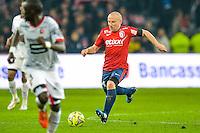 Florent Balmont - 15.03.2015 - Lille / Rennes - 29e journee Ligue 1<br /> Photo : Andre Ferreira / Icon Sport