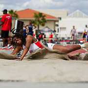 25 March 2017: The SDSU Track and Field team host the 39th Annual Aztec Invite at the San Diego State Sports Deck. <br /> www.sdsuaztecphotos.com