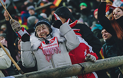 19.01.2020, Hochfirstschanze, Titisee Neustadt, GER, FIS Weltcup Ski Sprung, im Bild Polnische Fans // Polish Supporters during the FIS Ski Jumping World Cup at the Hochfirstschanze in Titisee Neustadt, Germany on 2020/01/19. EXPA Pictures © 2020, PhotoCredit: EXPA/ JFK