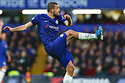 Chelsea midfielder Mateo Kovacic in action during the Premier League match between Chelsea and Manchester United at Stamford Bridge, London, England on 17 February 2020.