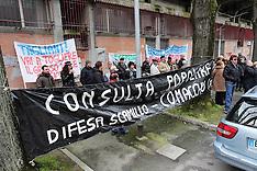 20130315 PROTESTA PER L'OSPEDALE DI COMACCHIO DI FRONTE ALL'ASL IN VIA CASSOLI
