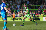 Forest Green Rovers Haydn Hollis runs forward during the EFL Sky Bet League 2 match between Forest Green Rovers and Grimsby Town FC at the New Lawn, Forest Green, United Kingdom on 5 May 2018. Picture by Shane Healey.