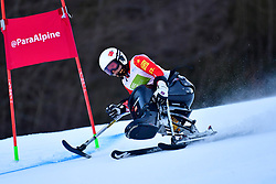 LIU Sitong, LW12-2, CHN at the World ParaAlpine World Cup Kranjska Gora, Slovenia