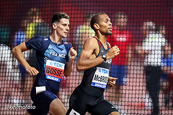2019 IAAF World Athletics Championships held in Doha, Qatar from September 27- October 6<br /> Day 2<br /> Canada mens 800